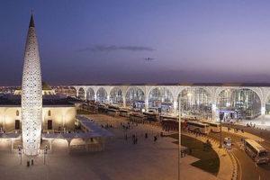 Prince Mohammad Bin Abdulaziz International Airport in Medina, Saudi Arabia.