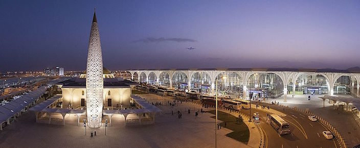 Prince Mohammad Bin Abdulaziz International Airport in Medina, Saudi Arabia.
