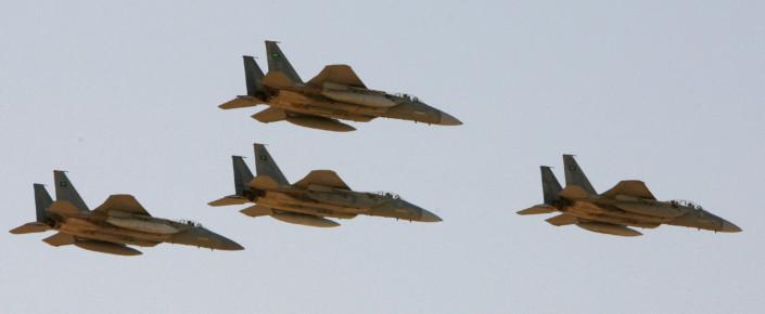 Saudi F-15s