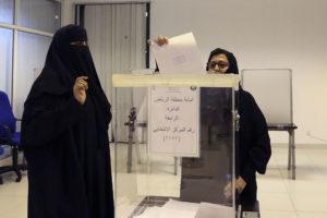Saudi Women Voting