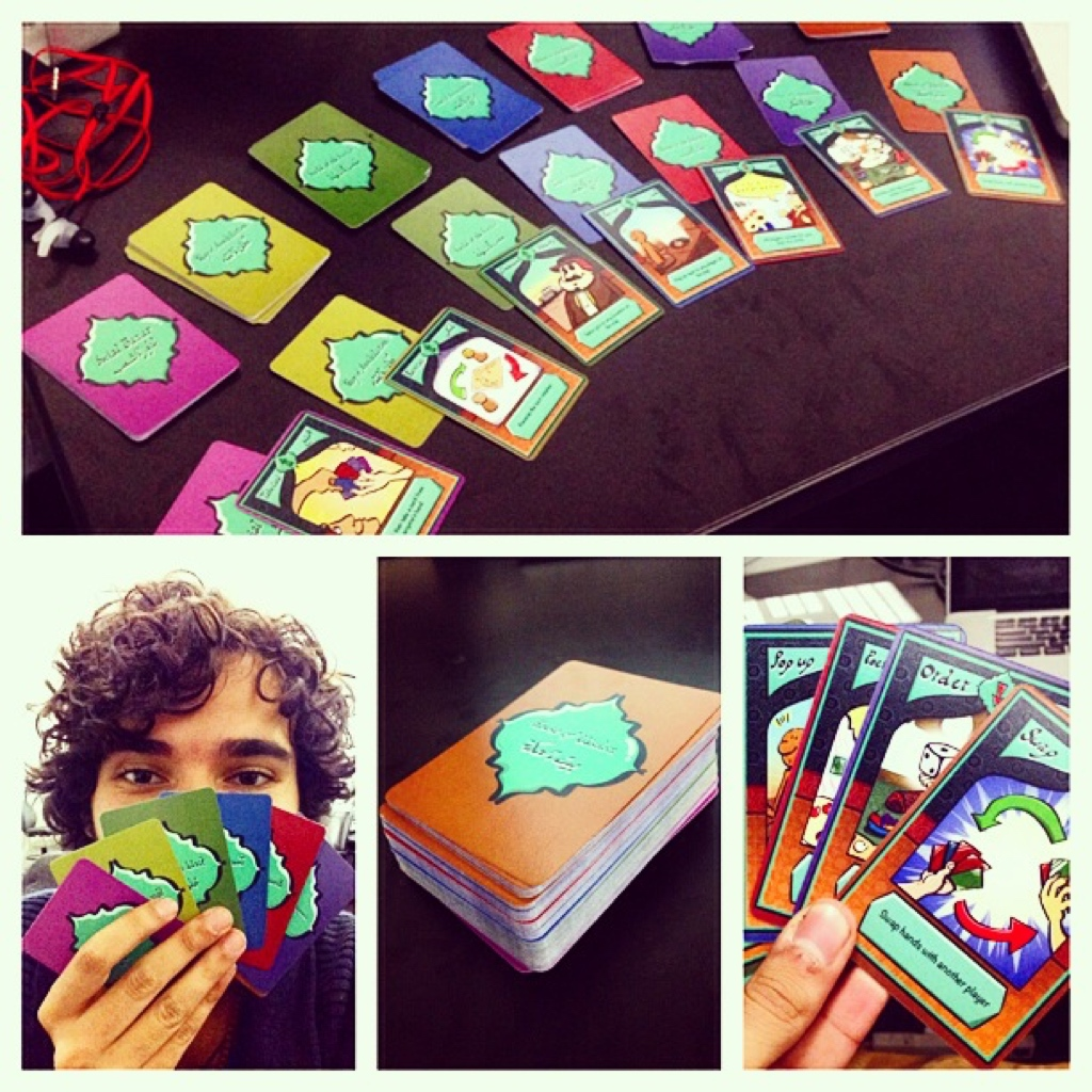 "Cards from ""The Way"" (Mahmoud Zaini)"