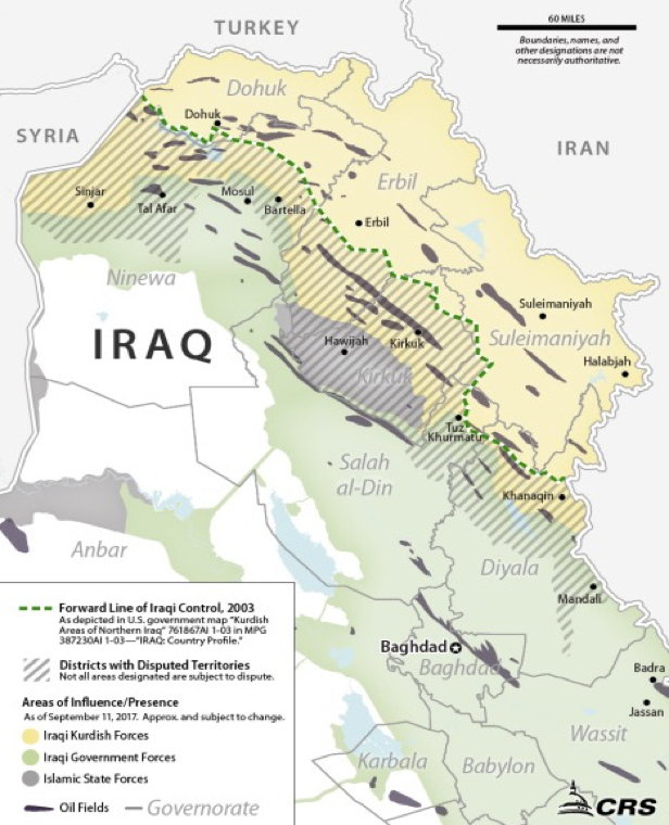 Iraq Disputed Territories