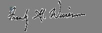 FGW signature
