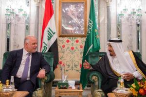 Haider al-Abadi and King Salman