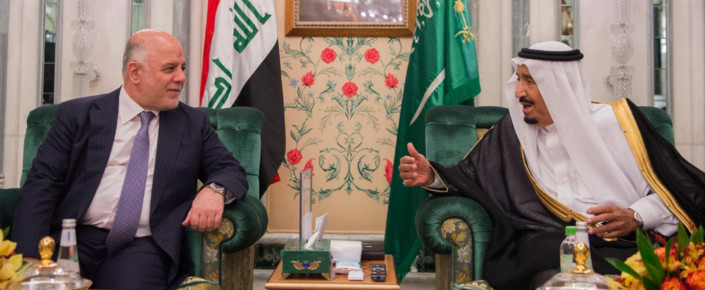Haider al-Abadi and King Salman