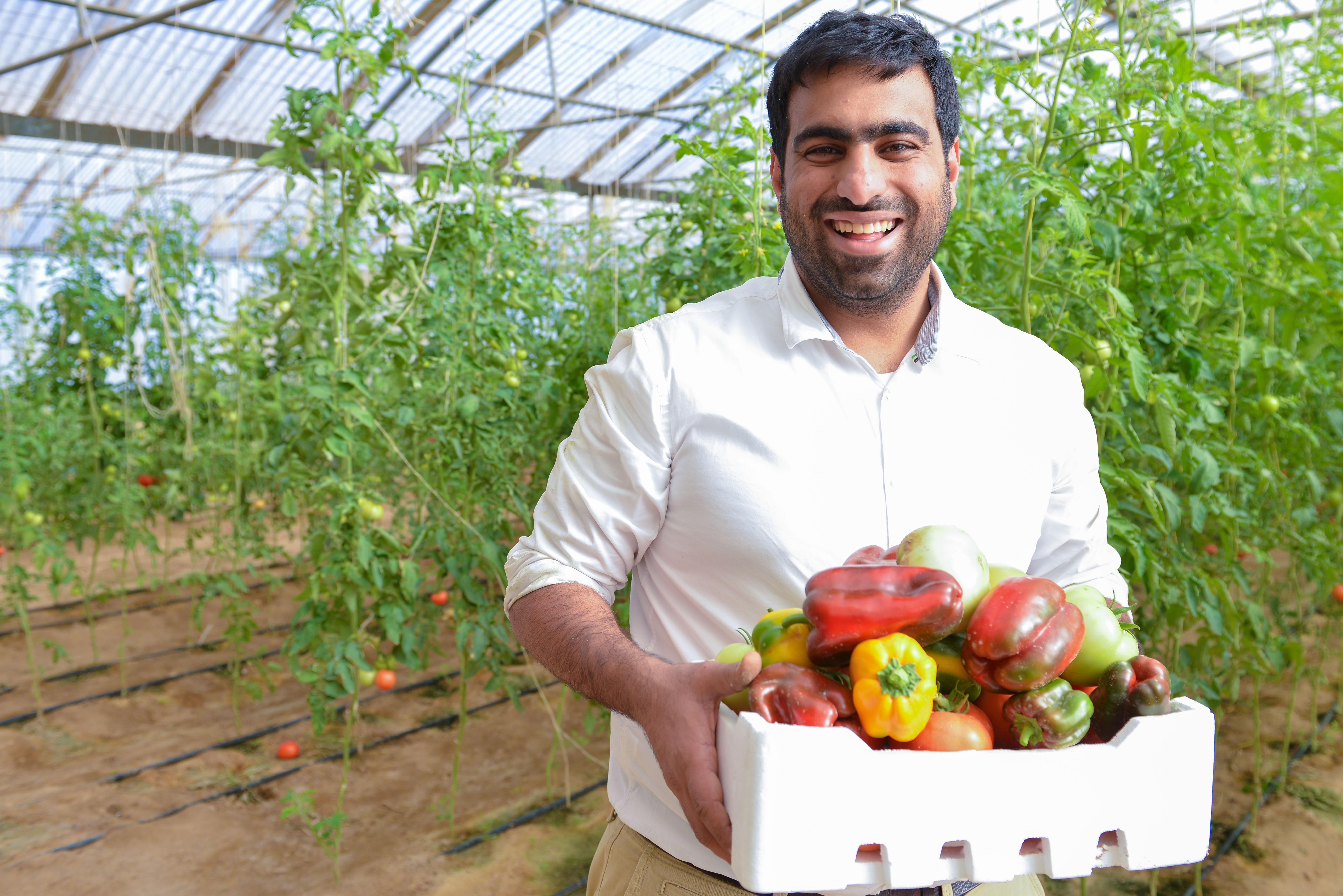 Ali BouKhamseen at Kenaneya Farm