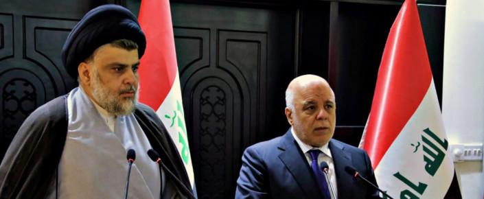 Haider al-Abadi and Muqtada al-Sadr