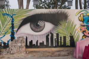 Dubai mural