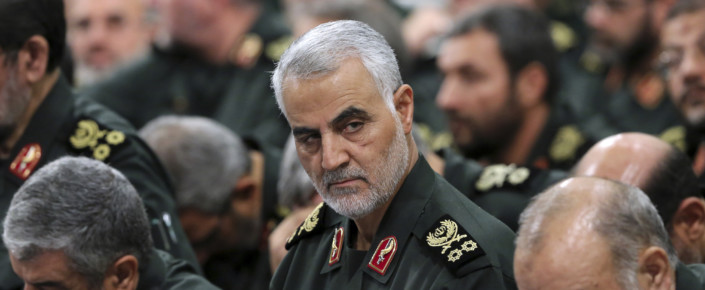 Iranian Major General Qassim Suleimani