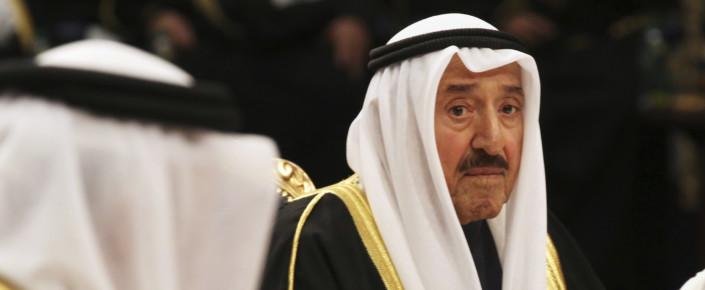 Kuwait Emir Sabah al-Ahmed al-Sabah