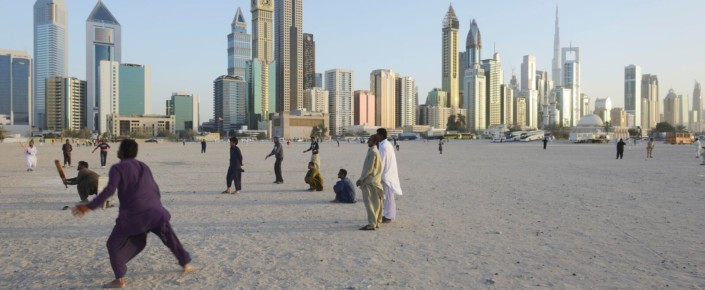 Cricket in Dubai